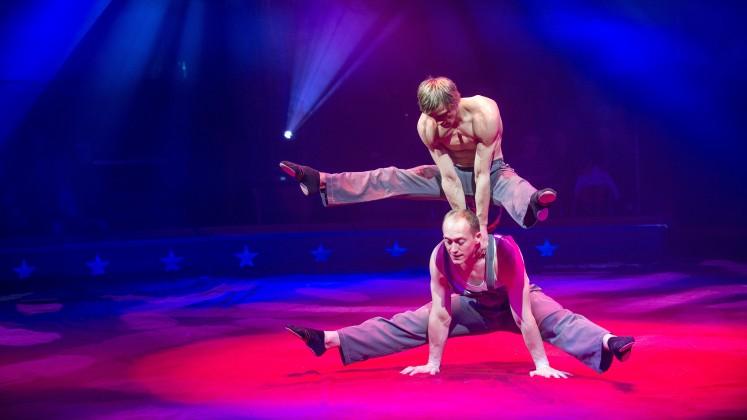 Circus Knie 2016 Smile Duo Shcherbak Popov