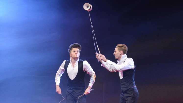 Circus Knie 2016 Smile TwinSpin