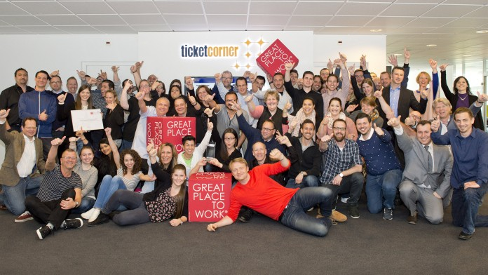 Ticketcorner Great place to work 2016
