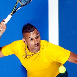 Nick Kyrgios - Swiss Indoors Basel 2016