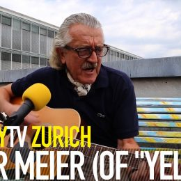 Yello Dieter Meier BalconyTV Zurich 2015