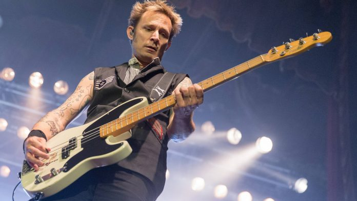 Green Day - Mike Dirnt 2016