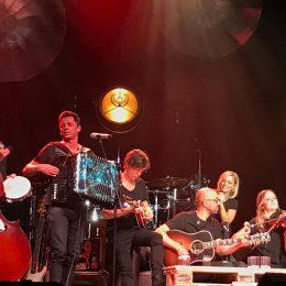 Michelle mit Band