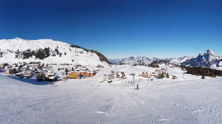 Dorf-Panorama