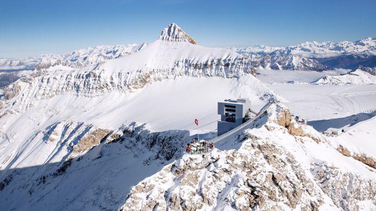 Die imposante Aussicht vom Peak Walk.