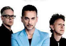 Andy Fletcher, Dave Gahan und Martin Gore.