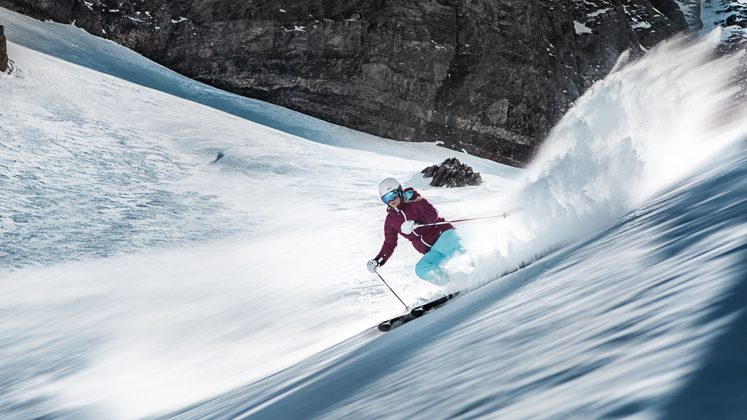 Die Oldenpiste mit ihren Gletscherpassagen ist nichts für Angsthasen.