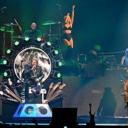 DuffMcKagan, Axl Rose und Slash (v.l. n. r.)