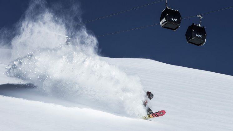 Laax - Snowboardvergnügen