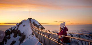 Der Sonnenuntergang ist vom Peak Walk aus besonders schön anzusehen.