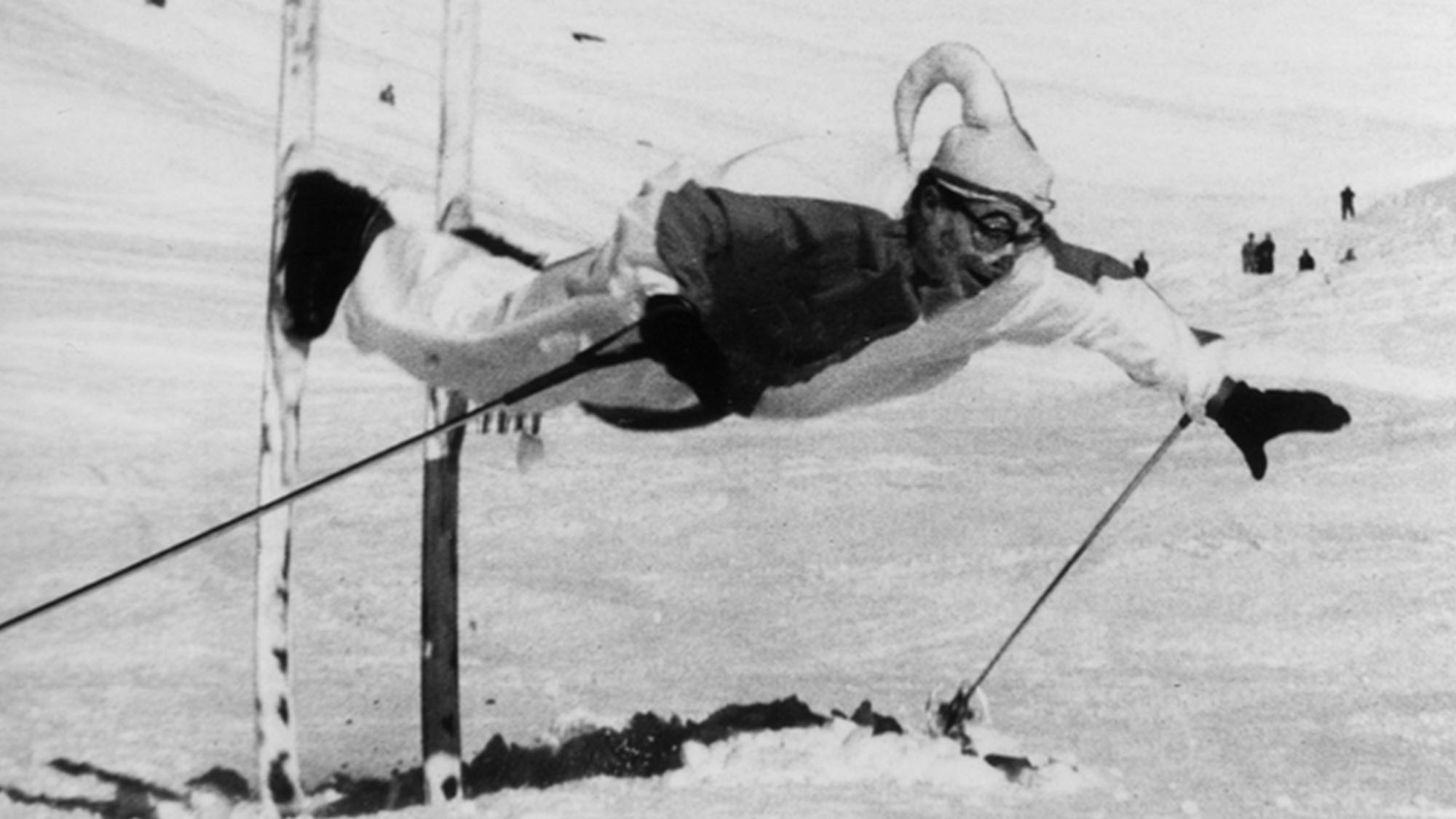 Ski-Akrobat Art Furrer.