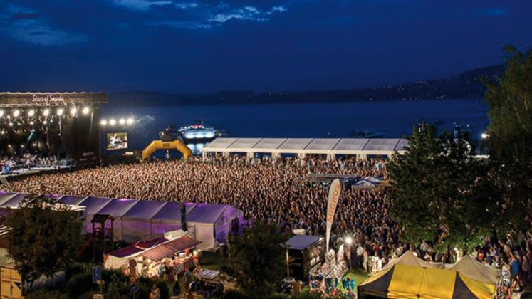 Direkt am See: Stars of Sounds Murten.