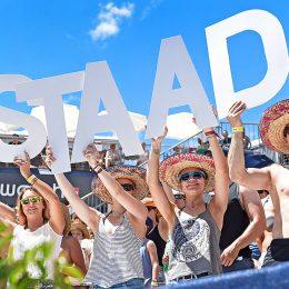 Gstaad wird bei Beachvolleyball-Fans gross geschrieben – buchstäblich!