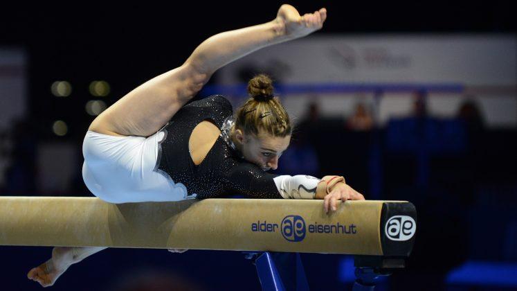 Swiss Cup Zürich - Weltklasse Turnen - Ilaria Käslin 2016