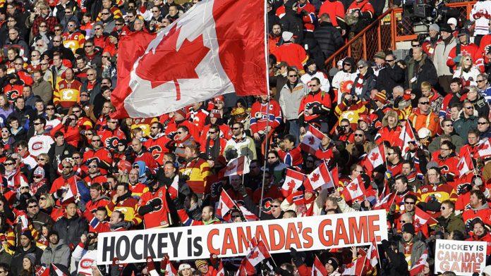 Eishockey Länderspiel Schweiz - Kanada 2017