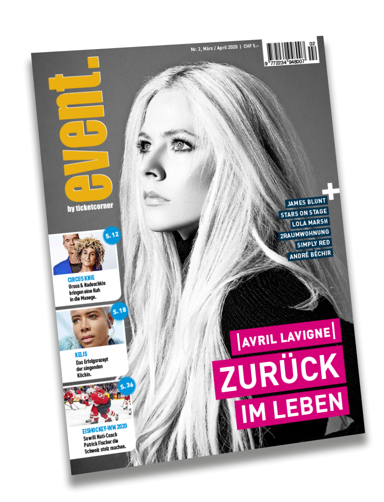 Ticketcorner event. Magazin